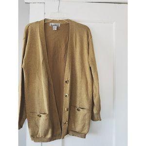 Oversized Vintage Gold Sweater